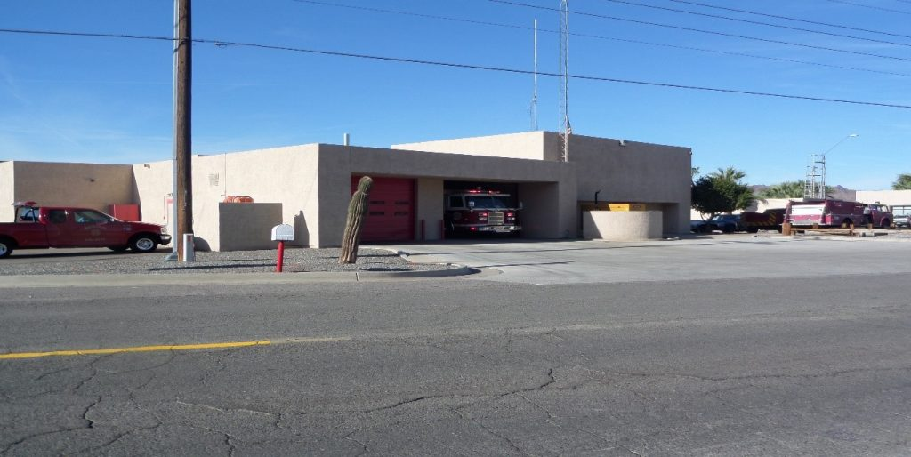 Fire Station 11 Built in 1983 with State Lake Improvement Funds [SLIF]